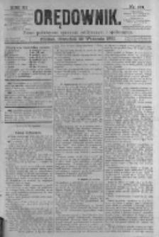 Orędownik: pismo poświęcone sprawom politycznym i spółecznym. 1881.09.29 R.11 nr124