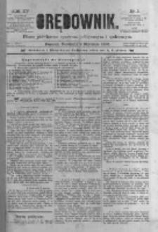 Orędownik: pismo poświęcone sprawom politycznym i spółecznym 1885.01.04 R.15 Nr3
