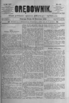 Orędownik: pismo poświęcone sprawom politycznym i spółecznym 1885.01.21 R.15 Nr16