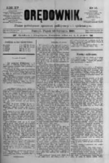 Orędownik: pismo poświęcone sprawom politycznym i spółecznym 1885.01.23 R.15 Nr18