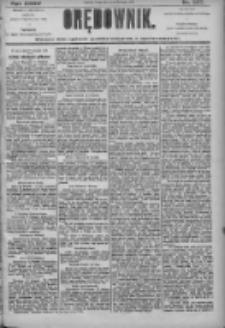 Orędownik: pismo dla spraw politycznych i społecznych 1905.11.22 R.35 Nr267