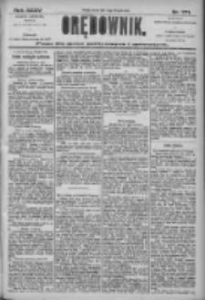 Orędownik: pismo dla spraw politycznych i społecznych 1905.11.28 R.35 Nr271
