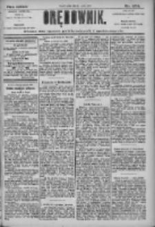 Orędownik: pismo dla spraw politycznych i społecznych 1905.12.01 R.35 Nr274