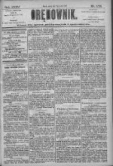 Orędownik: pismo dla spraw politycznych i społecznych 1905.12.02 R.35 Nr275
