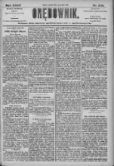 Orędownik: pismo dla spraw politycznych i społecznych 1905.12.07 R.35 Nr279