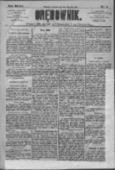 Orędownik: pismo dla spraw politycznych i społecznych 1909.01.03 R.39 Nr2