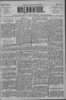 Orędownik: pismo dla spraw politycznych i społecznych 1909.01.13 R.39 Nr9