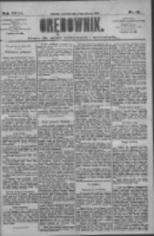 Orędownik: pismo dla spraw politycznych i społecznych 1909.01.14 R.39 Nr10