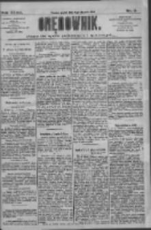 Orędownik: pismo dla spraw politycznych i społecznych 1909.01.15 R.39 Nr11