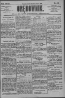 Orędownik: pismo dla spraw politycznych i społecznych 1909.01.17 R.39 Nr13