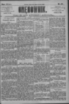 Orędownik: pismo dla spraw politycznych i społecznych 1909.01.20 R.39 Nr15