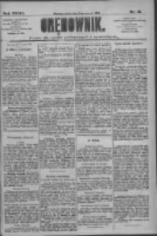 Orędownik: pismo dla spraw politycznych i społecznych 1909.01.23 R.39 Nr18