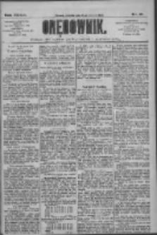 Orędownik: pismo dla spraw politycznych i społecznych 1909.01.24 R.39 Nr19