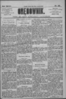 Orędownik: pismo dla spraw politycznych i społecznych 1909.01.26 R.39 Nr20