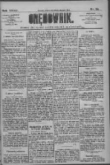 Orędownik: pismo dla spraw politycznych i społecznych 1909.01.30 R.39 Nr24