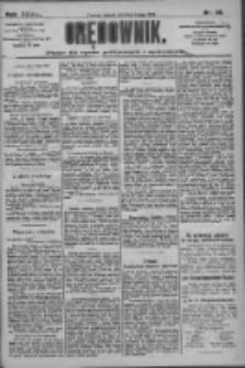 Orędownik: pismo dla spraw politycznych i społecznych 1909.02.02 R.39 Nr26