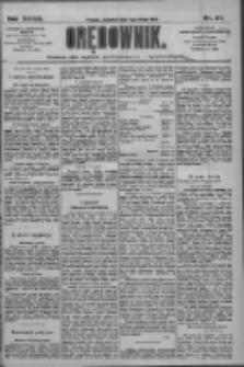 Orędownik: pismo dla spraw politycznych i społecznych 1909.02.04 R.39 Nr27
