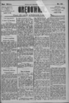 Orędownik: pismo dla spraw politycznych i społecznych 1909.02.05 R.39 Nr28