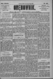 Orędownik: pismo dla spraw politycznych i społecznych 1909.02.13 R.39 Nr35