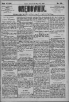 Orędownik: pismo dla spraw politycznych i społecznych 1909.02.14 R.39 Nr36