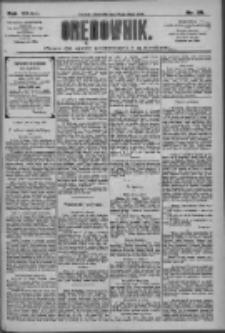 Orędownik: pismo dla spraw politycznych i społecznych 1909.02.18 R.39 Nr39