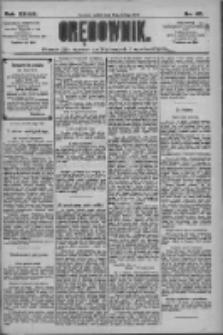 Orędownik: pismo dla spraw politycznych i społecznych 1909.02.19 R.39 Nr40