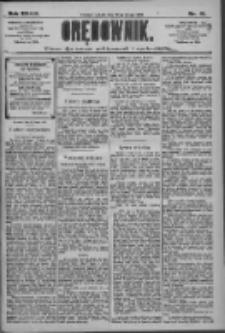Orędownik: pismo dla spraw politycznych i społecznych 1909.02.20 R.39 Nr41