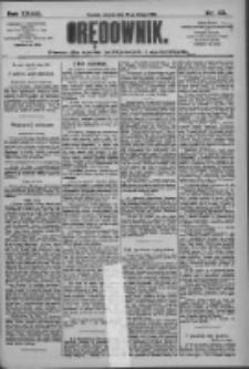 Orędownik: pismo dla spraw politycznych i społecznych 1909.02.23 R.39 Nr43