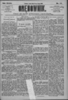 Orędownik: pismo dla spraw politycznych i społecznych 1909.02.24 R.39 Nr44