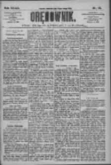 Orędownik: pismo dla spraw politycznych i społecznych 1909.02.25 R.39 Nr45