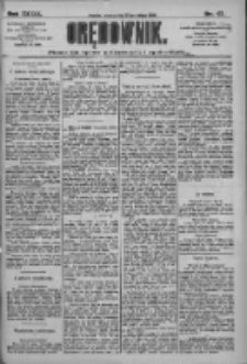 Orędownik: pismo dla spraw politycznych i społecznych 1909.02.27 R.39 Nr47