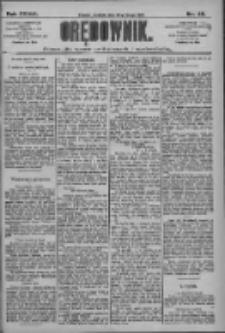 Orędownik: pismo dla spraw politycznych i społecznych 1909.02.28 R.39 Nr48