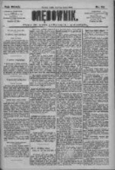 Orędownik: pismo dla spraw politycznych i społecznych 1909.03.05 R.39 Nr52
