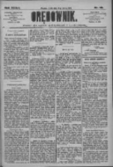 Orędownik: pismo dla spraw politycznych i społecznych 1909.03.10 R.39 Nr56