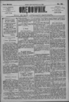 Orędownik: pismo dla spraw politycznych i społecznych 1909.03.12 R.39 Nr58