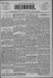 Orędownik: pismo dla spraw politycznych i społecznych 1909.03.14 R.39 Nr60