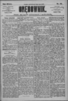 Orędownik: pismo dla spraw politycznych i społecznych 1909.03.18 R.39 Nr63