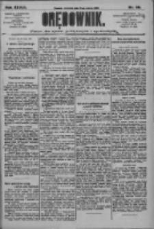 Orędownik: pismo dla spraw politycznych i społecznych 1909.03.21 R.39 Nr66