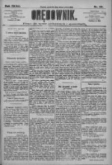Orędownik: pismo dla spraw politycznych i społecznych 1909.03.25 R.39 Nr69