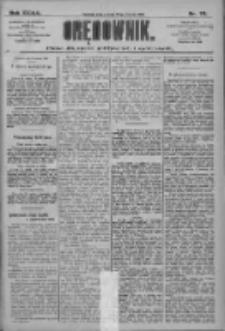 Orędownik: pismo dla spraw politycznych i społecznych 1909.03.27 R.39 Nr70