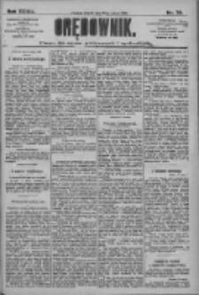 Orędownik: pismo dla spraw politycznych i społecznych 1909.03.30 R.39 Nr72