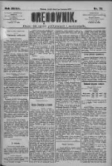 Orędownik: pismo dla spraw politycznych i społecznych 1909.04.07 R.39 Nr79