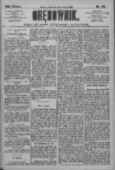 Orędownik: pismo dla spraw politycznych i społecznych 1909.04.10 R.39 Nr82