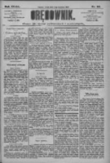 Orędownik: pismo dla spraw politycznych i społecznych 1909.04.14 R.39 Nr84