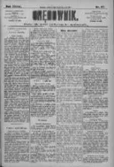 Orędownik: pismo dla spraw politycznych i społecznych 1909.04.17 R.39 Nr87