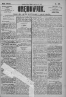 Orędownik: pismo dla spraw politycznych i społecznych 1909.04.20 R.39 Nr89