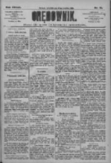 Orędownik: pismo dla spraw politycznych i społecznych 1909.04.22 R.39 Nr91