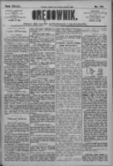 Orędownik: pismo dla spraw politycznych i społecznych 1909.04.23 R.39 Nr92