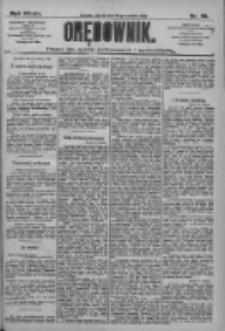 Orędownik: pismo dla spraw politycznych i społecznych 1909.04.27 R.39 Nr95