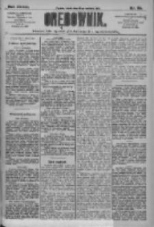 Orędownik: pismo dla spraw politycznych i społecznych 1909.04.28 R.39 Nr96